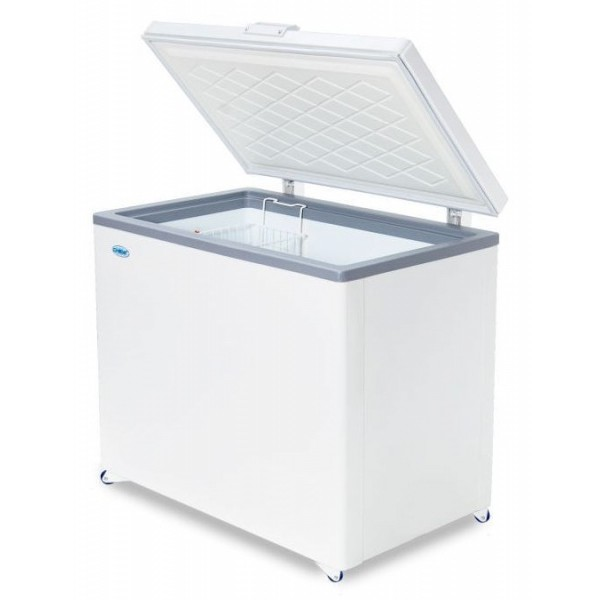 Ларь морозильный Снеж МЛК-350 нерж. крышка