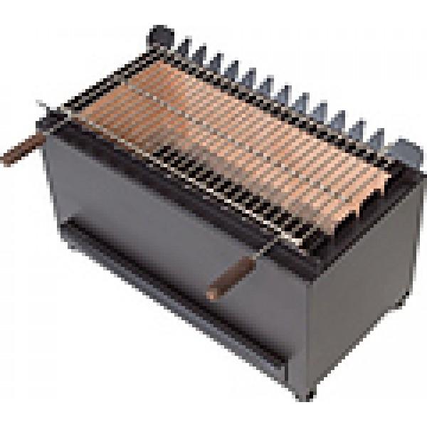 Печь на древесном топливе Vortmax CHB 313 SHASLIK черная