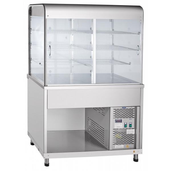 Витрина холодильная Abat ПВВ(Н)-70КМ-С-НШ