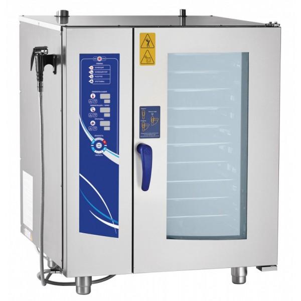 Пароконвектомат Abat ПКА 10-1/1ВМ2-01 (автоматическая мойка)